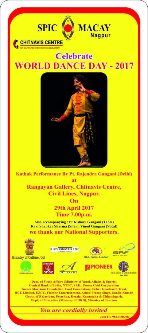 Celebration of World Dance Day – Chitnavis Centre