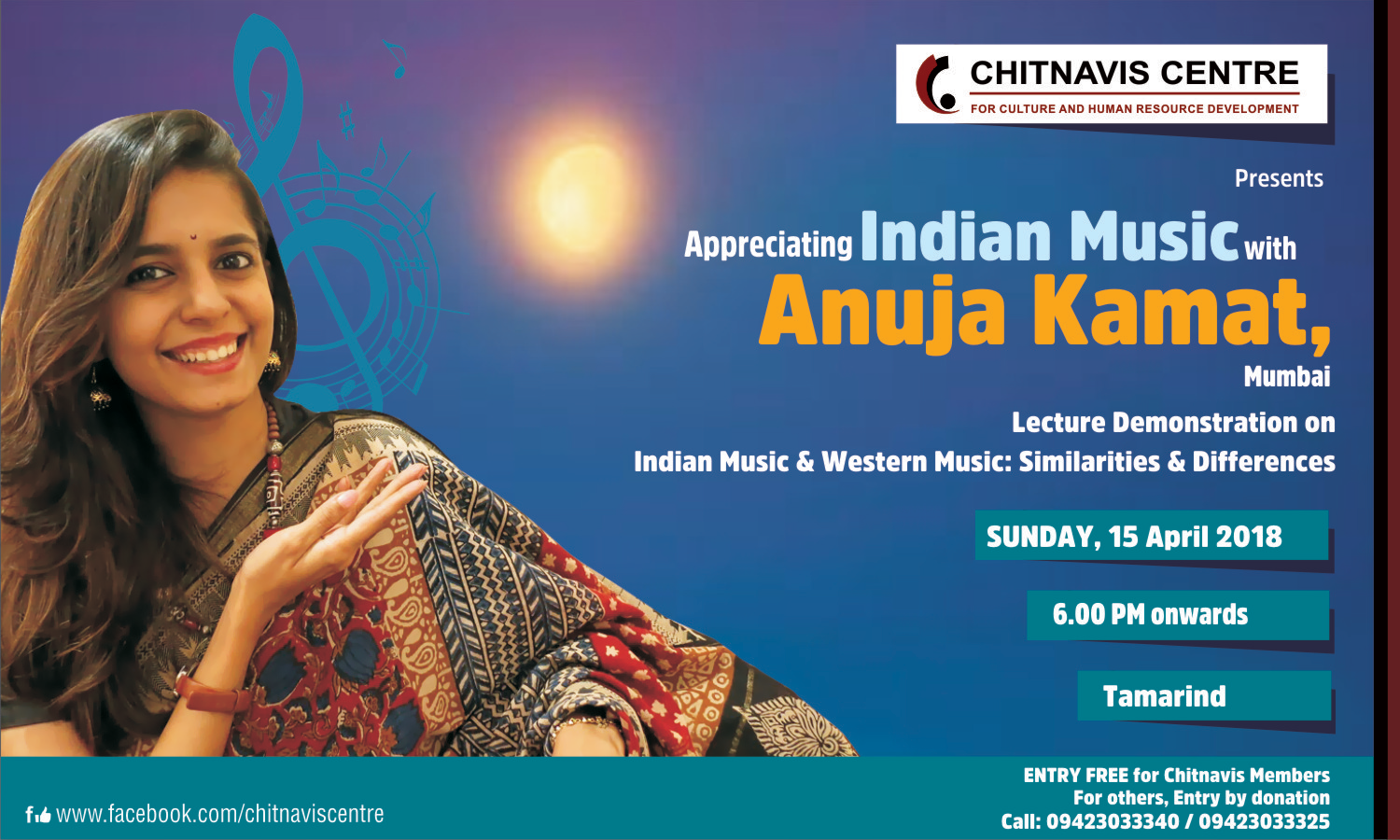 Appreciating Indian Music with Anuja Kamat, Mumbai