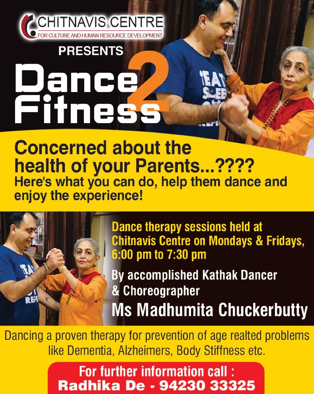 Senior Citizen Dance Therapy Class